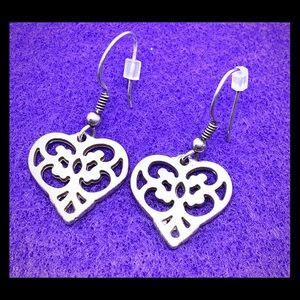 Brighton Geneva Heart Earrings